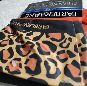 🐆 Cheetah 🐆 Farberware Cleaning Gloves